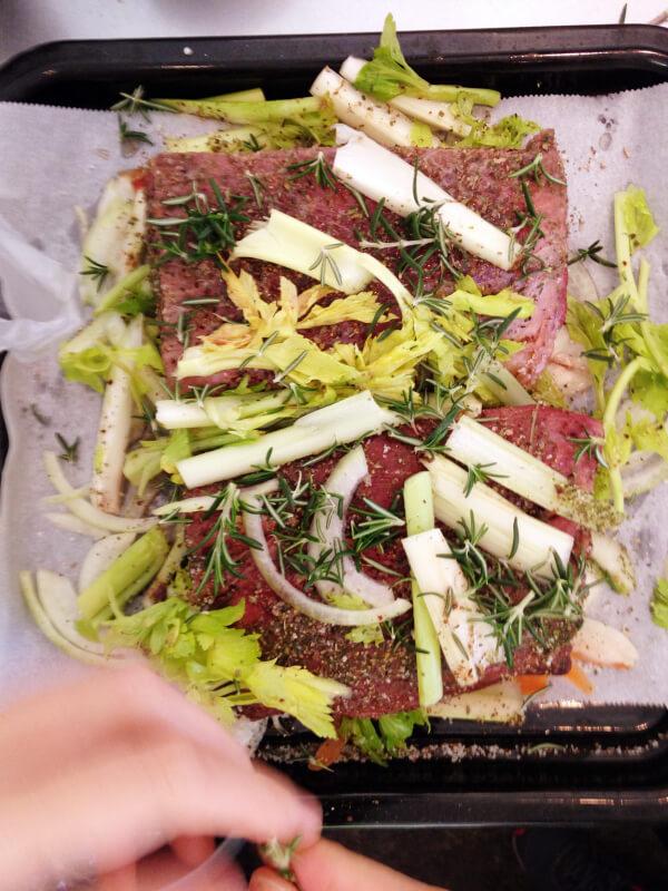 ローストビーフ / roast beef