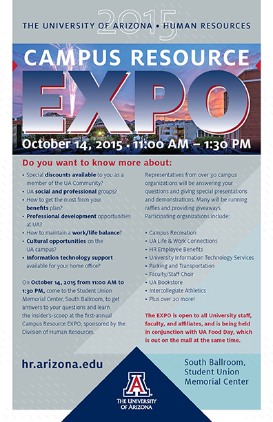 Human Resources Expo Flyer