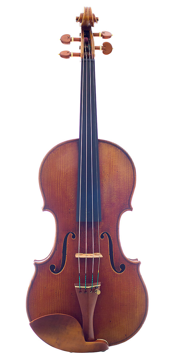 Front of Hiroshi Iizuka's 2003 violin