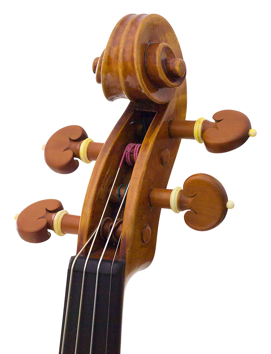Scroll, Hiroshi Iizuka's 2003 violin