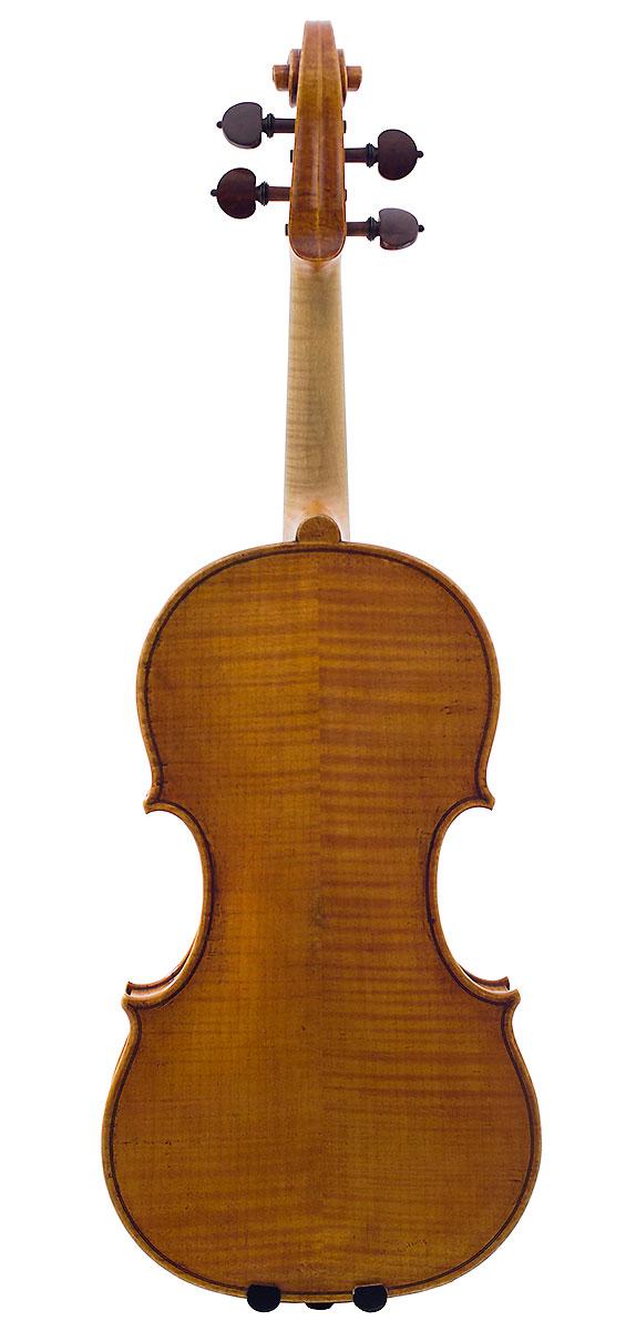 Back of Howard Needham's 2005 Guarneri model violin