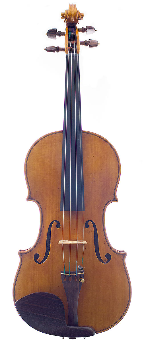 Front of Laura Vigato's 2009 violin