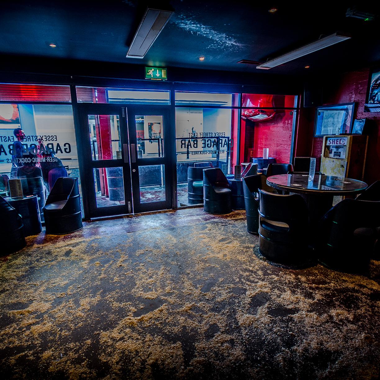 Garage Bar Temple Bar Dublin