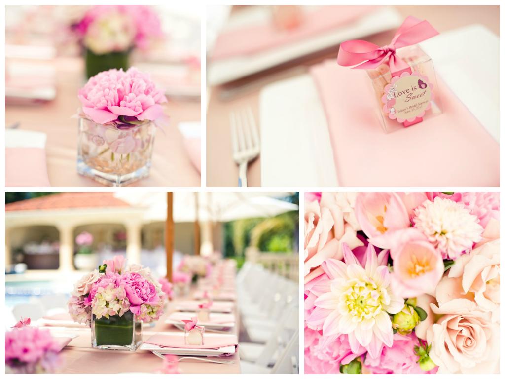 Blush Pink Bridal Shower Simple Little Details