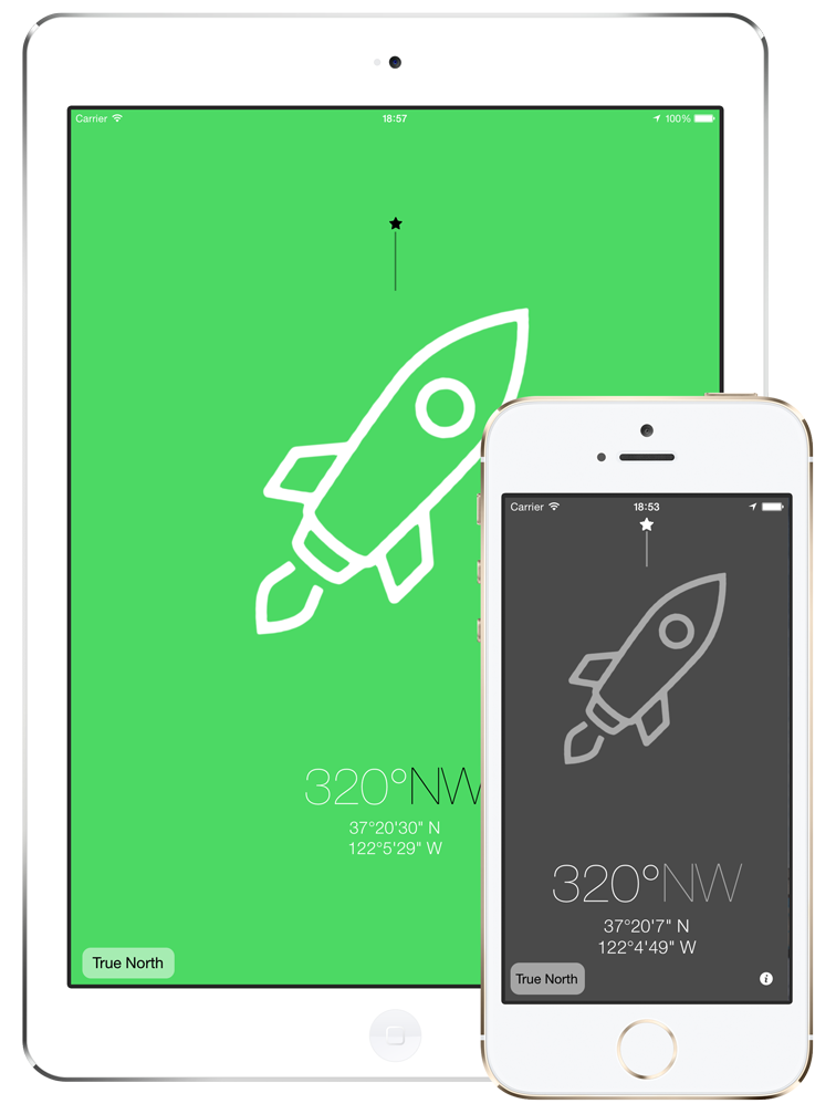 3pCompass - Compass App