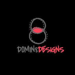 domin8 designs footer logo