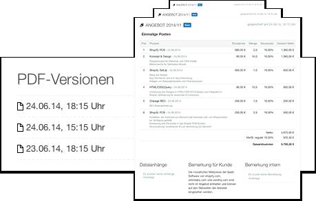 PDF-Versionierung
