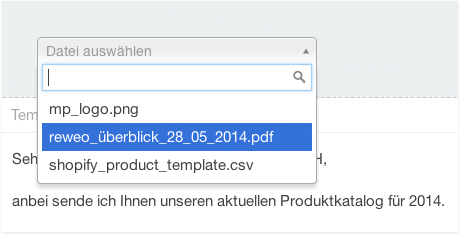CRM Dateipool