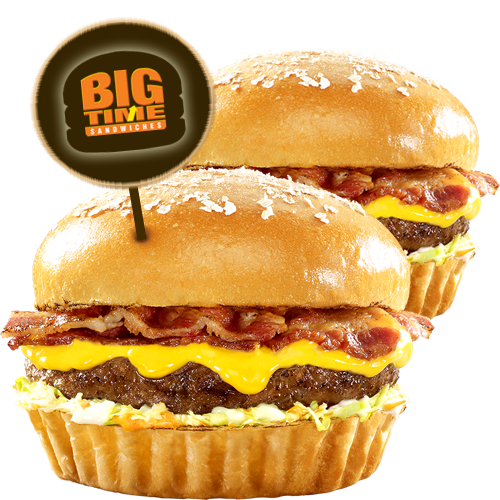 Minute Burger Big Time Sandwich