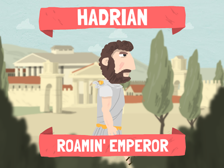 Screengrab from The Hadrian  project.