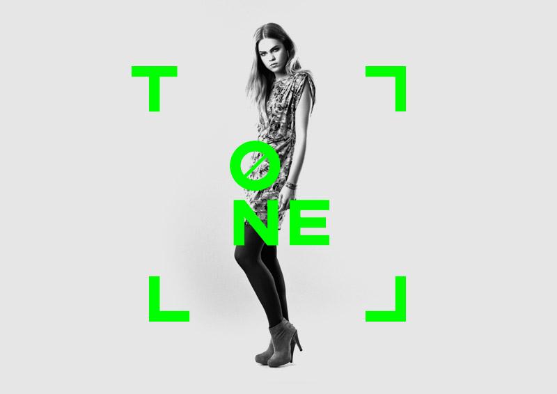 Модная газета Tonel. Логотип и фирменный стиль. Креативное агентство FB2B