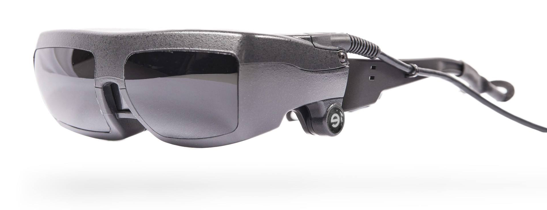 Picture of eSight Glasses in the header