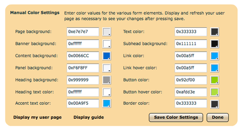 Eyejot blog press the save color settings to save your settings to help you become familiar with the various css field names weve included an element map which can be reheart Image collections