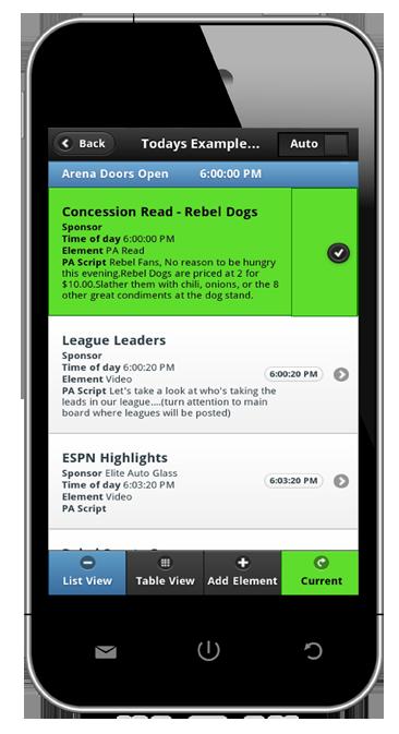 ScriptPRO Go Live on Phone