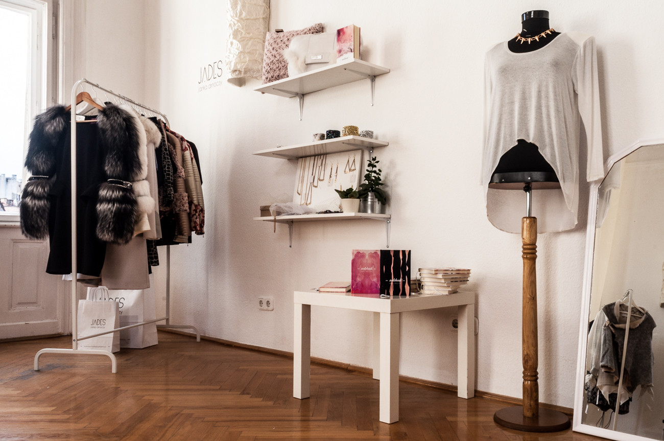 Minimal style showroom and creative space in the city centre with joining  of six yound designers  Ginger Brownie 22bd2002b9