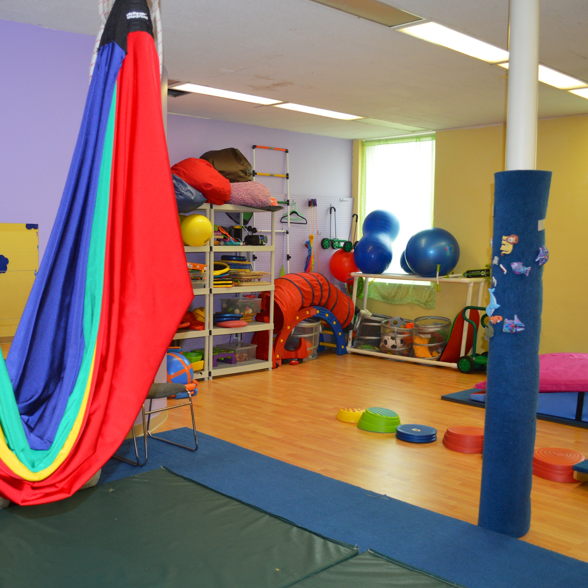 Equipment pediatric physical therapy - Main Sensory Gym