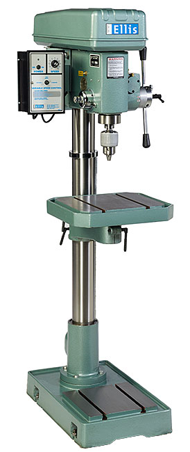 drill press used to make acoustical panels