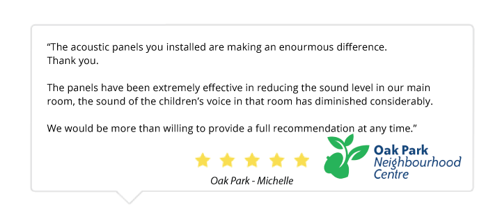 customer comment on acoustic panels in canada