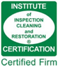 Institute of Inspection cleaning and restoration logo