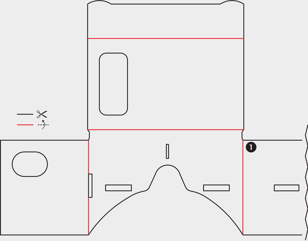 Как из картона сделать очки виртуальной реальности