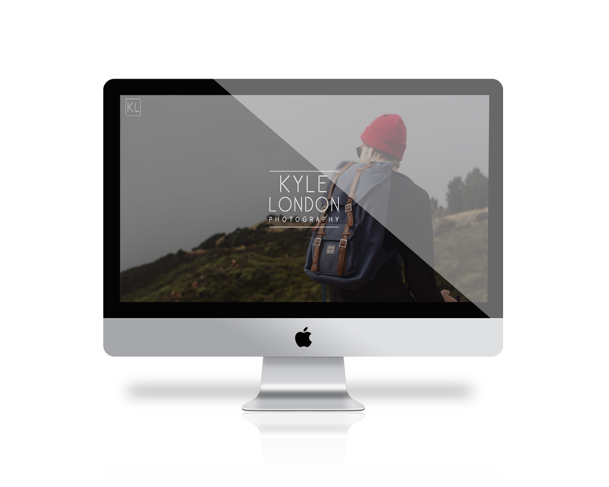 Kyle London Responsive website interface