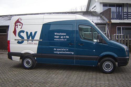VW Crafter bedrukken