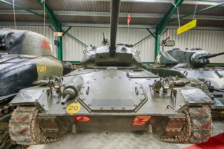 M24 Chaffee @ Muckleburgh Collection NR25 7EH