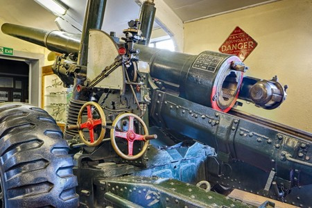 5.5' Howitzer @ Muckleburgh Collection NR25 7EH