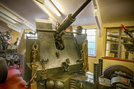 Bofors L70 40mm Anti-Aircraft @ Muckleburgh Collection NR25 7EH