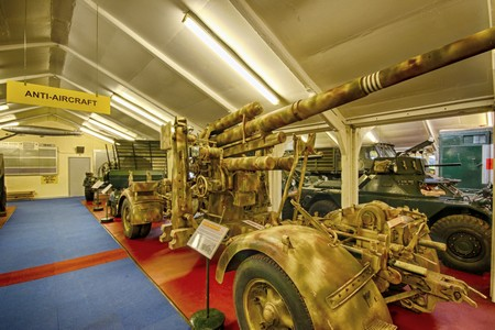 88mm Flak 37 German Anti-Aircraft @ Muckleburgh Museum NR25 7EH
