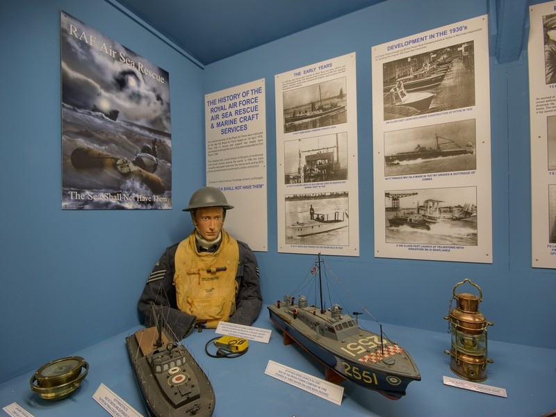Sea Rescue Exhibition @ The Muckleburch Collection NR25 7EG