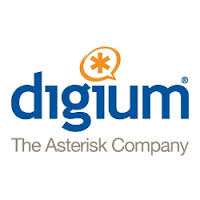 Logo of Digium The Asterisk Company