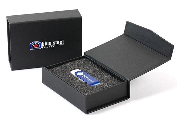 Картонная коробка для USB флешки