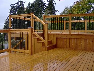 State Roofing - Cedar Decking