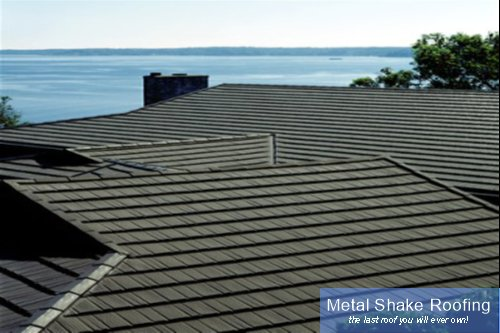 State Roofing - Metal Shake Roofing