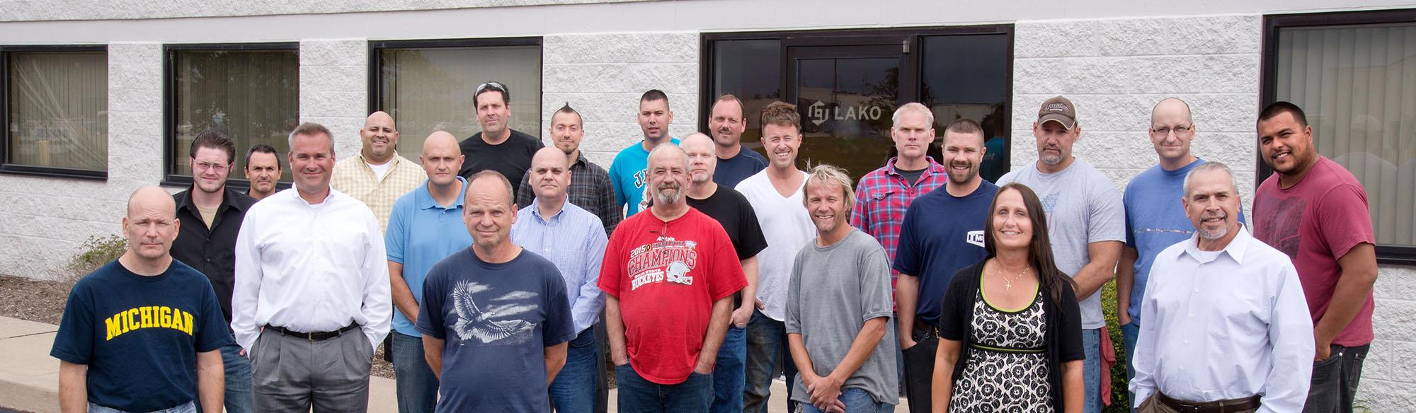 Lako Tool Employee Group Picture