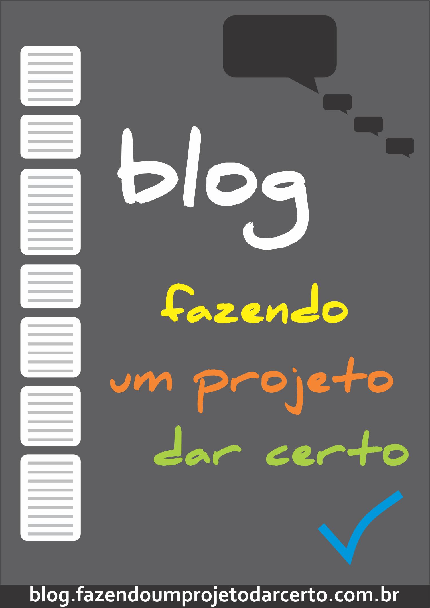 Logo do Blog Fazendo um projeto dar certo