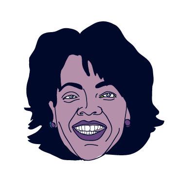 Oprah Floating Head - Mychal Handley