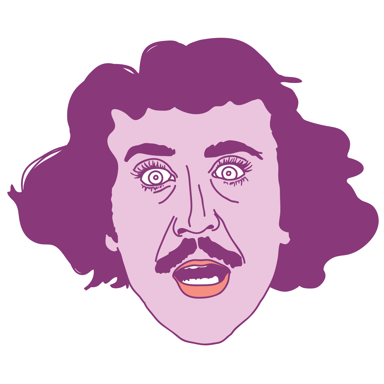 Gene Wilder Floating Head - Mychal Handley