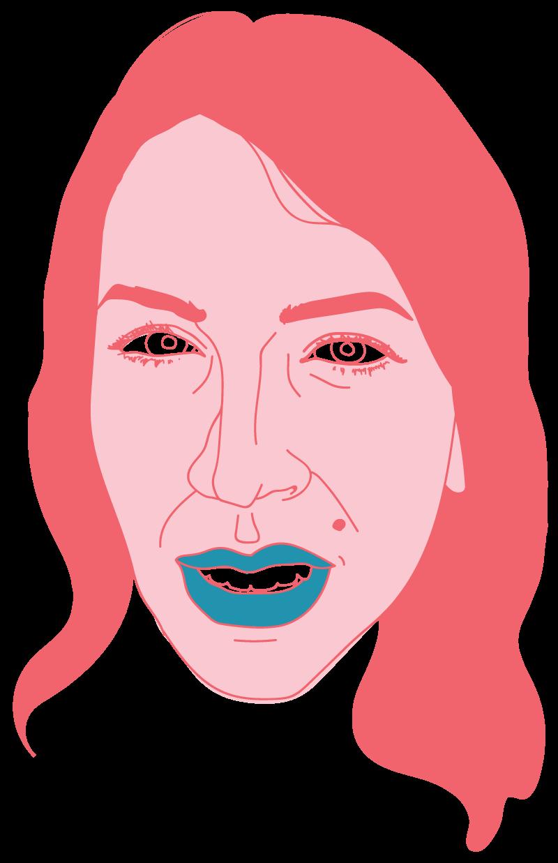 Danielle Floating Head - Mychal Handley