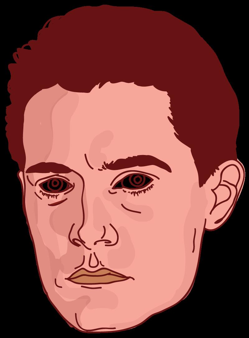 Agent Cooper Floating Head - Mychal Handley