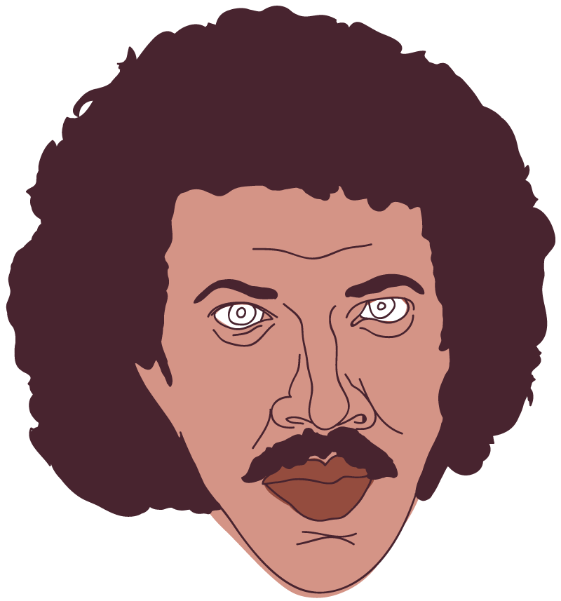 Lionel Ritchie Floating Head - Mychal Handley