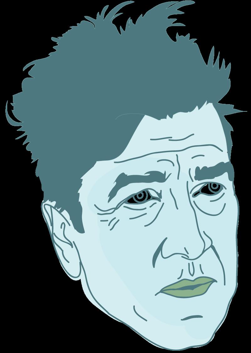 David Lynch Floating Head - Mychal Handley