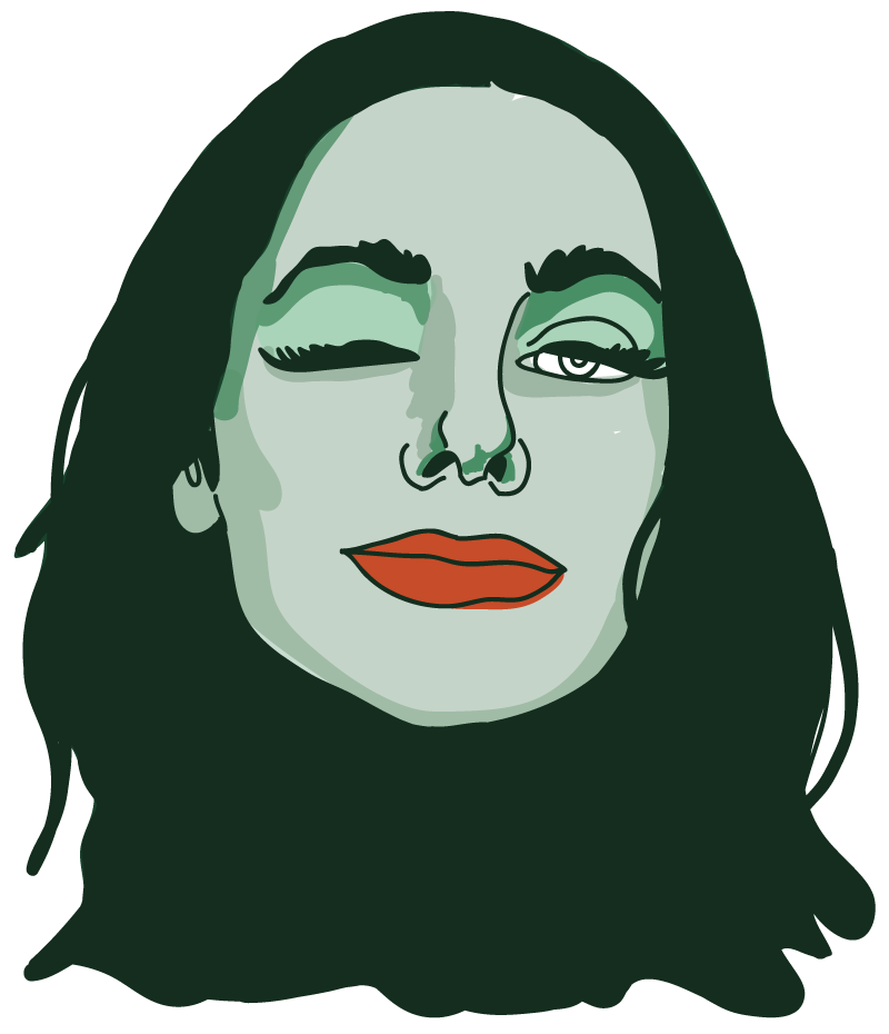 PJ Harvey Floating Head - Mychal Handley
