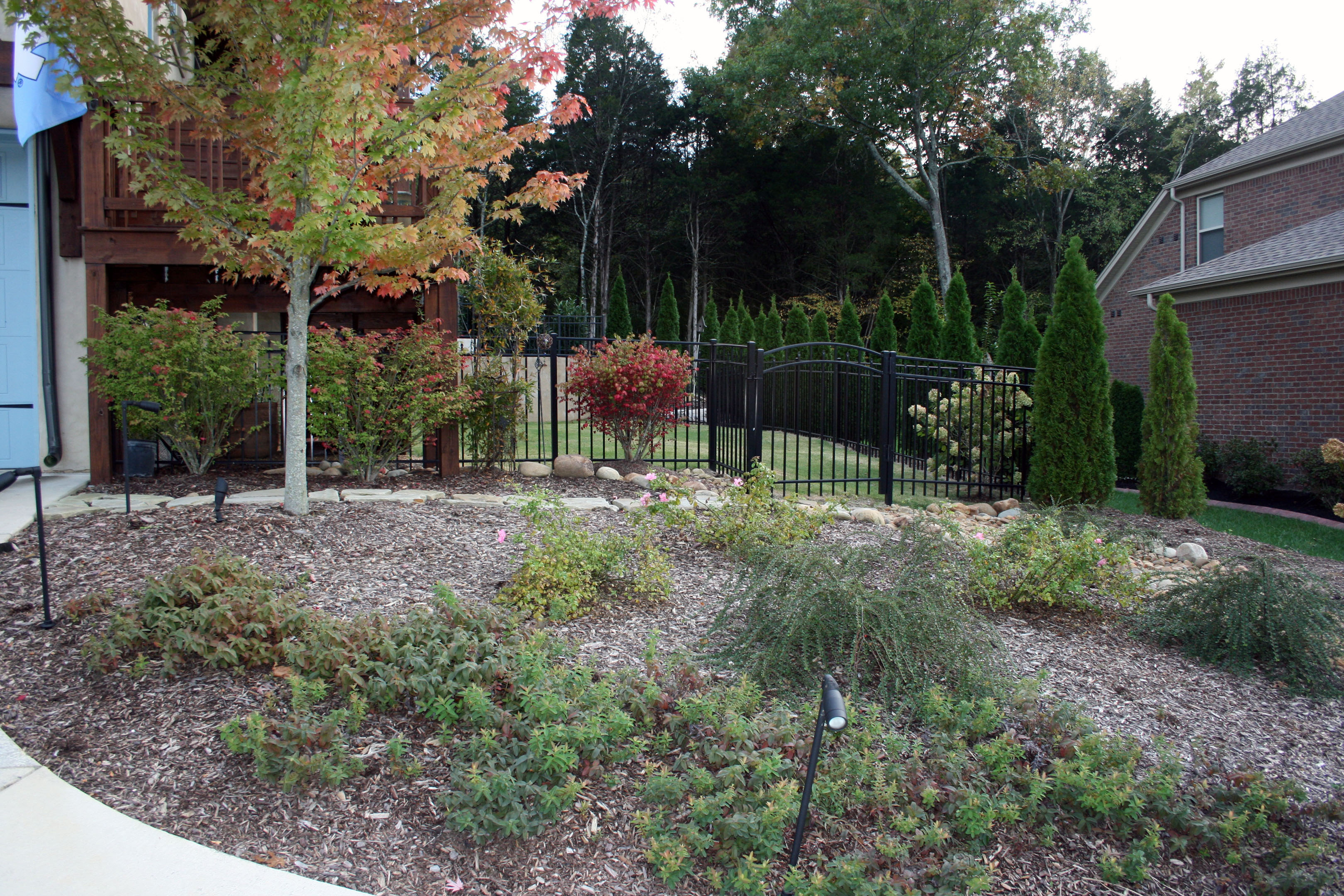 Landscape design for Garden design nashville tn