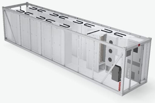 750kva trailer ups rental