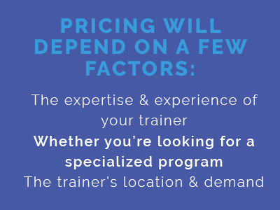 cost of a personal trainer