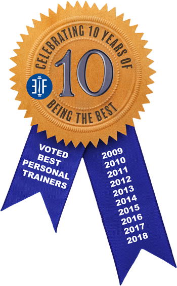 voted best personal trainers 10 years in a row