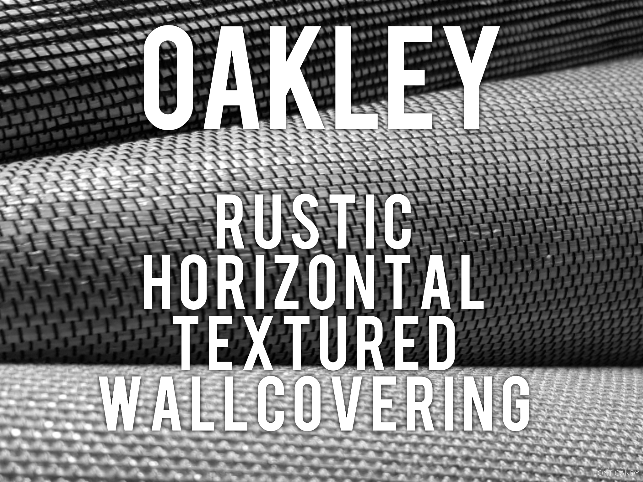 Oakley - Rustic Horizontal textured wallcovering