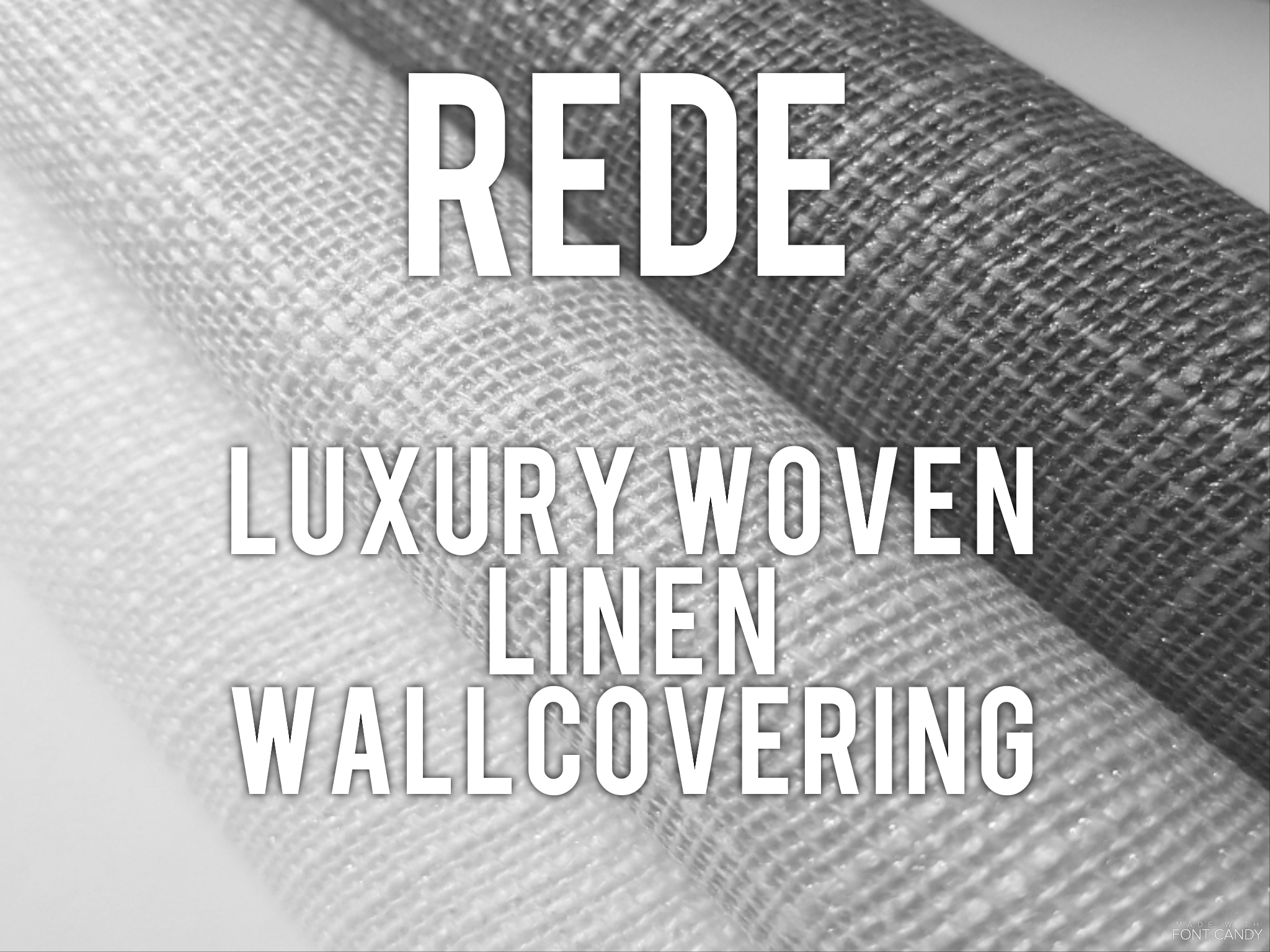 Rede  - Luxury woven linen wallcovering